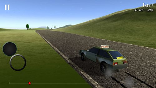 Capturas de pantalla del juego Freak racing para iPhone, iPad o iPod.
