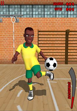 Screenshots of the Freestyle Soccer game for iPhone, iPad or iPod.