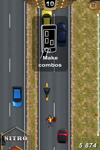 Capturas de pantalla del juego Freeway fury para iPhone, iPad o iPod.