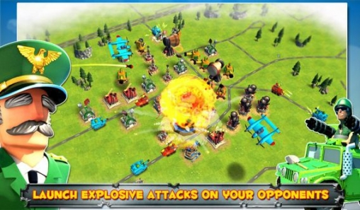 Screenshots of the Friendly fire! game for iPhone, iPad or iPod.