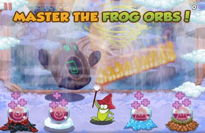 Descarga gratuita de Frog Orbs para iPhone, iPad y iPod.