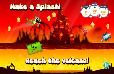 Screenshots of the Froggy Splash game for iPhone, iPad or iPod.
