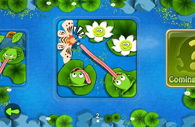 Download Frogs vs. Pests iPhone free game.