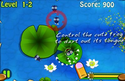Frogs vs  Pests iPhone game - free  Download ipa for iPad