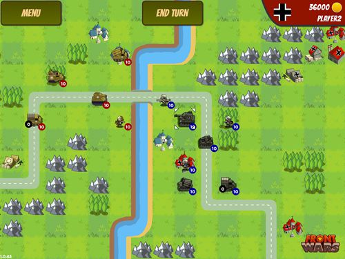 Download Front wars iPhone free game.