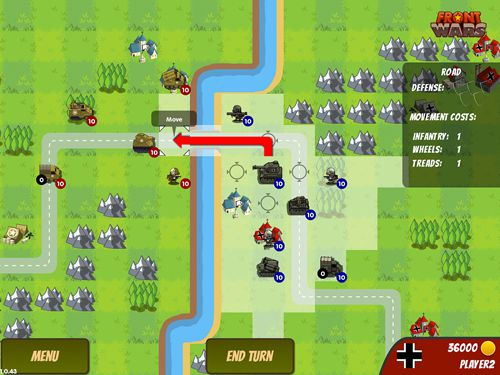 Free Front wars download for iPhone, iPad and iPod.