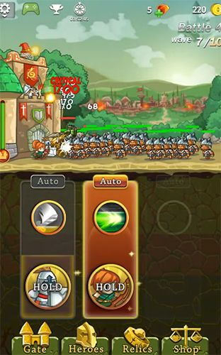 Screenshots do jogo Frontier defense para iPhone, iPad ou iPod.