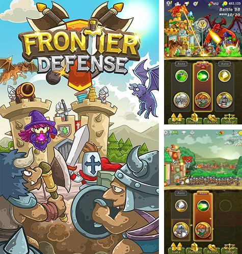 Download Frontier defense iPhone free game.