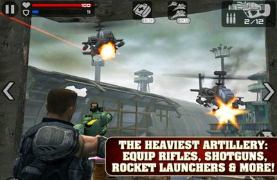 Screenshots do jogo Frontline Commando para iPhone, iPad ou iPod.