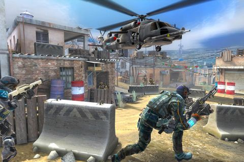 Capturas de pantalla del juego Frontline commando 2 para iPhone, iPad o iPod.