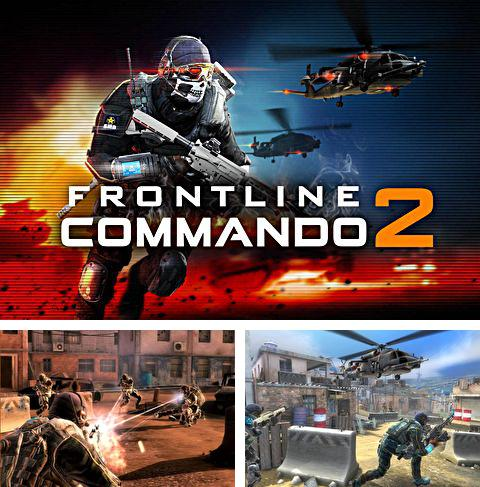 In addition to the game Zombie slasher for iPhone, iPad or iPod, you can also download Frontline commando 2 for free.
