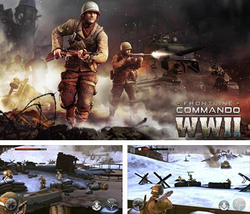 In addition to the game Angry birds: Transformers for iPhone, iPad or iPod, you can also download Frontline commando: WW2 for free.