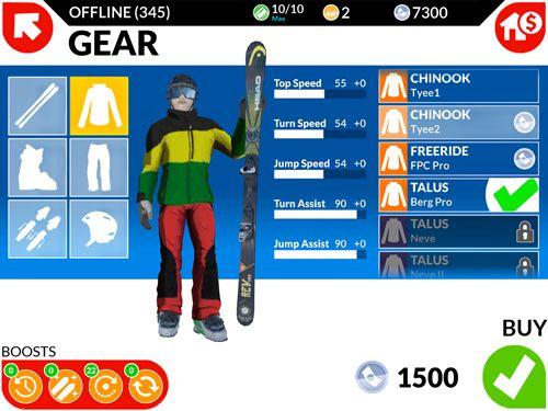 Descarga gratuita de FRS ski cross: Racing challenge para iPhone, iPad y iPod.