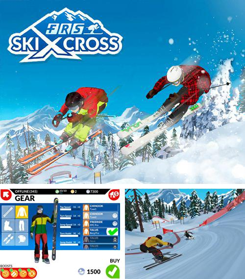 FRS ski cross: Racing challenge