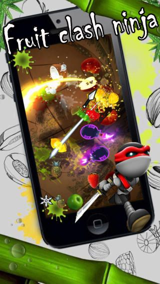 Fruit clash ninja