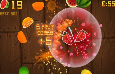 Download Fruit Ninja iPhone free game.