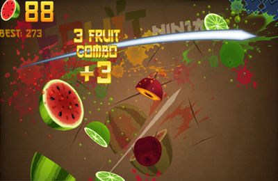 Free Fruit Ninja download for iPhone, iPad and iPod.