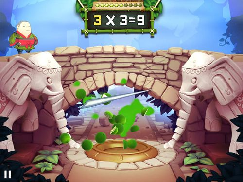 Descarga gratuita de Fruit ninja academy: Math master para iPhone, iPad y iPod.