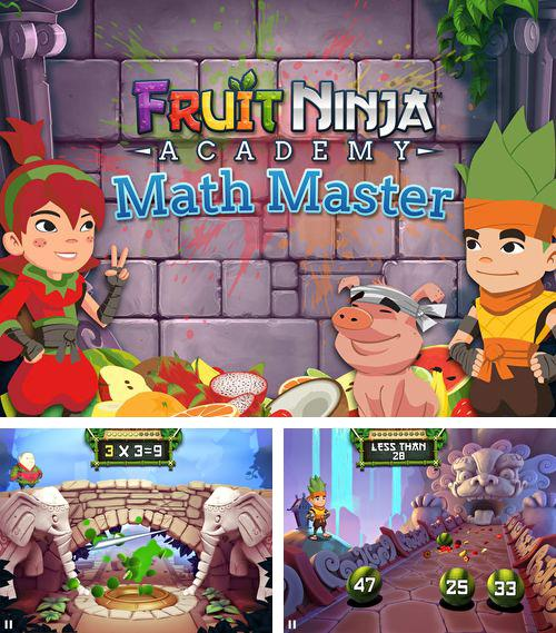 In addition to the game Labyrinth 2 for iPhone, iPad or iPod, you can also download Fruit ninja academy: Math master for free.