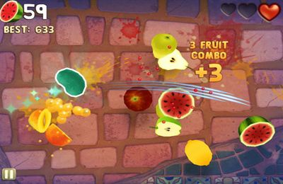 Скачати гру Fruit Ninja: Puss in Boots для iPad.