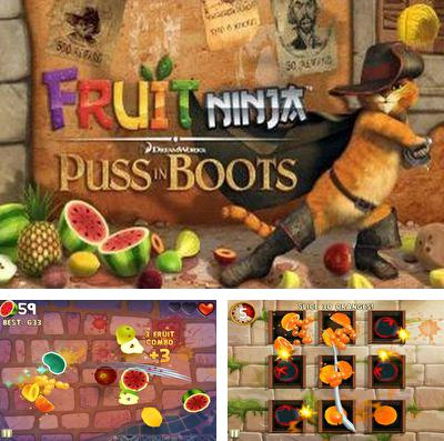 Скачать Fruit Ninja: Puss in Boots на iPhone бесплатно