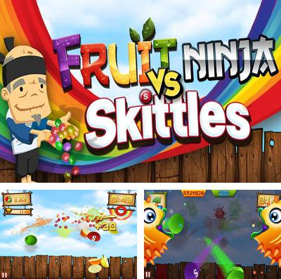In addition to the game Alien Swarm for iPhone, iPad or iPod, you can also download Fruit Ninja vs Skittles for free.