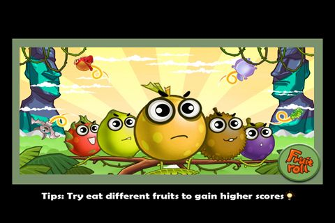 Download Fruit roll iPhone free game.