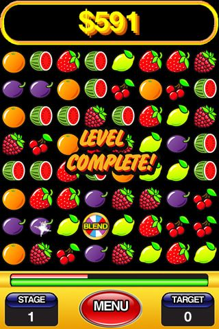Capturas de pantalla del juego Fruit salad para iPhone, iPad o iPod.