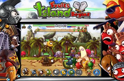 Fruits Island: Begins