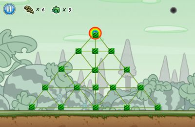 Capturas de pantalla del juego Fruits vs. Birds para iPhone, iPad o iPod.