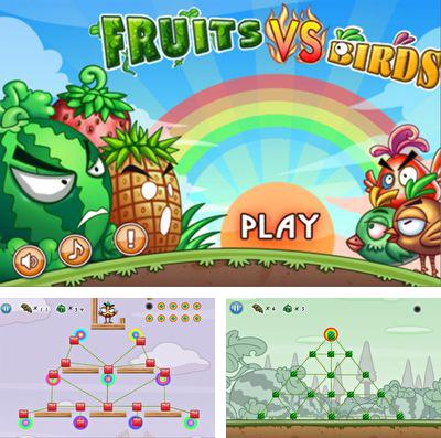In addition to the game Fruits vs. Birds for iPhone SE, you can download Fruits vs. Birds for iPhone, iPad, iPod for free.