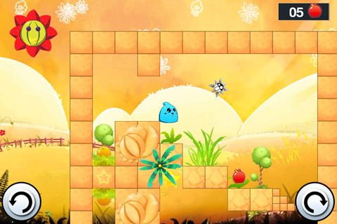 Screenshots of the Fruity jelly game for iPhone, iPad or iPod.