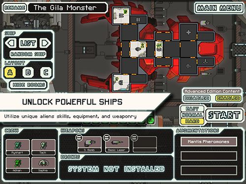 Download FTL: Faster than light iPhone free game.