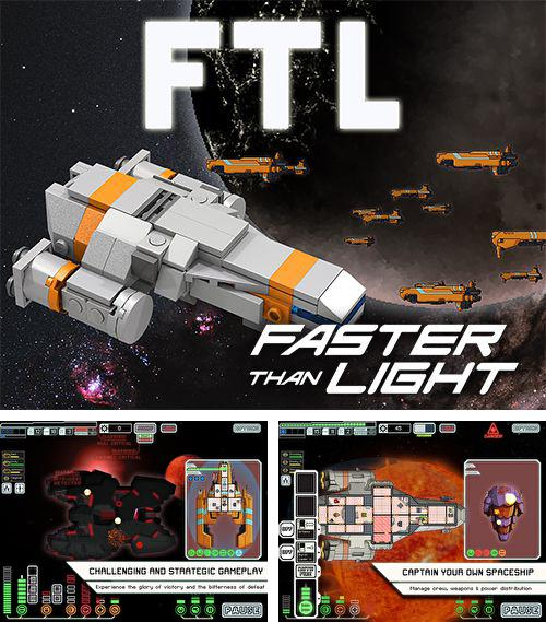 In addition to the game Crazy Chicken Deluxe - Grouse Hunting for iPhone, iPad or iPod, you can also download FTL: Faster than light for free.