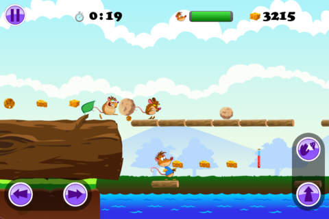 Capturas de pantalla del juego Furacity para iPhone, iPad o iPod.