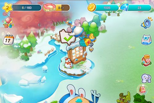 Screenshots of the Furry friends game for iPhone, iPad or iPod.