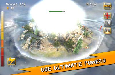 Capturas de pantalla del juego Fury of the Gods para iPhone, iPad o iPod.
