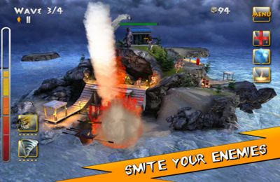 Écrans du jeu Fury of the Gods pour iPhone, iPad ou iPod.