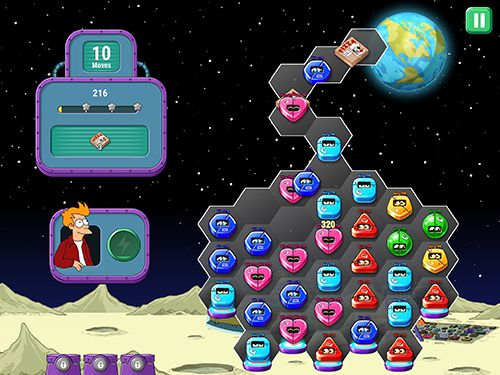 Free Futurama: Game of drones download for iPhone, iPad and iPod.