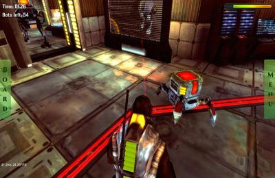 Screenshots do jogo Future Robots 3D para iPhone, iPad ou iPod.