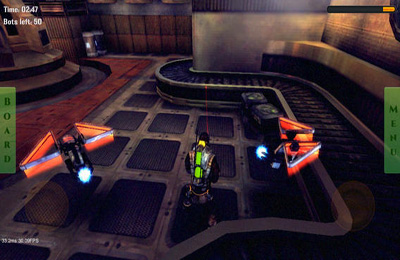 Screenshots of the Future Robots 3D game for iPhone, iPad or iPod.