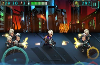 Screenshots do jogo Future Shooter para iPhone, iPad ou iPod.
