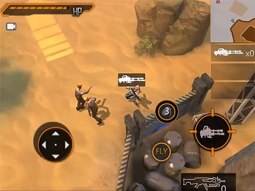Download Future war: Reborn iPhone free game.