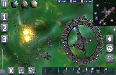 Free Galactic Conflict download for iPhone, iPad and iPod.