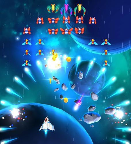 Free Galaga: Wars download for iPhone, iPad and iPod.