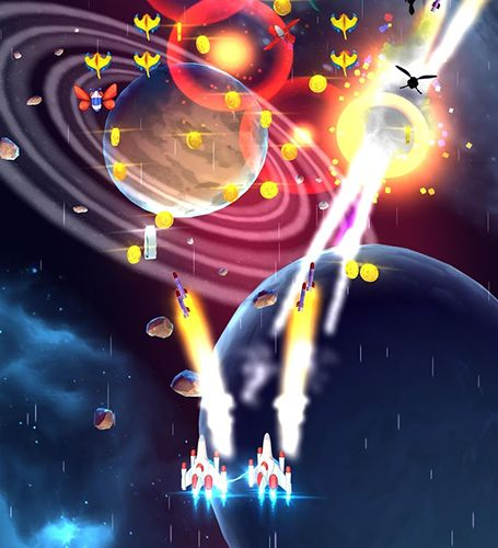 Capturas de pantalla del juego Galaga: Wars para iPhone, iPad o iPod.