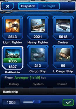 Screenshots vom Spiel Galaxy Empire: Moon Base für iPhone, iPad oder iPod.