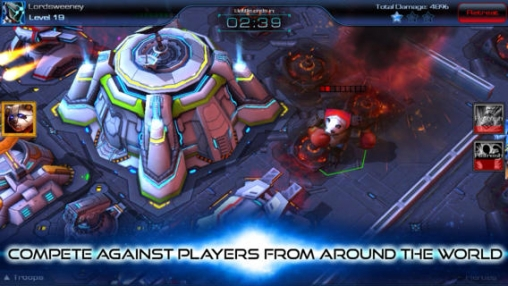 Descarga gratuita de Galaxy Factions para iPhone, iPad y iPod.