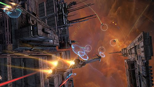 Screenshots vom Spiel Galaxy on fire 3: Manticore für iPhone, iPad oder iPod.