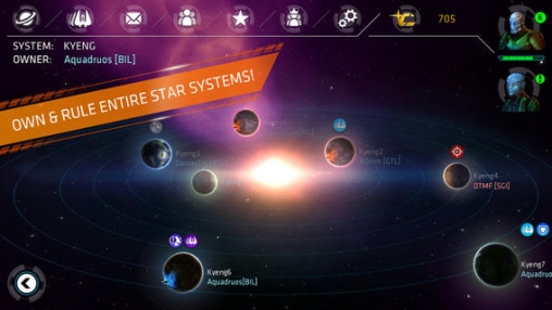 Capturas de pantalla del juego Galaxy on Fire – Alliances para iPhone, iPad o iPod.